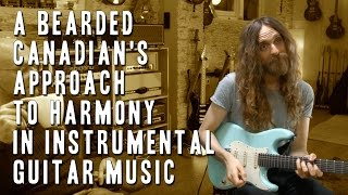 Nick Johnston's harmonic approach to instrumental guitar music