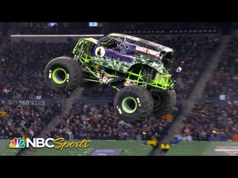 Monster Jam 2019: Seattle, WA   EXTENDED HIGHLIGHTS   Motorsports on NBC