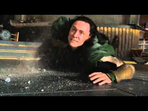 Los vengadores 2012 - Hulk Vs Loki (Español Latino)