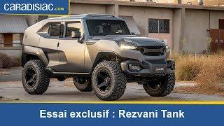 Essai exclusif - Rezvani: un Tank en ville