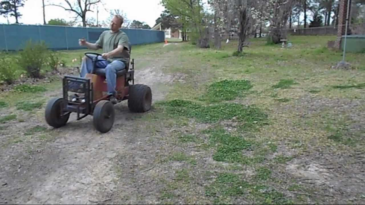 Racing Lawn Mower For Sale >> How to: Make A Riding Lawn Mower FAST! Part2 - YouTube
