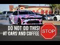 HOW NOT TO LEAVE CARS & COFFEE-SCOTTSDALE EDITION