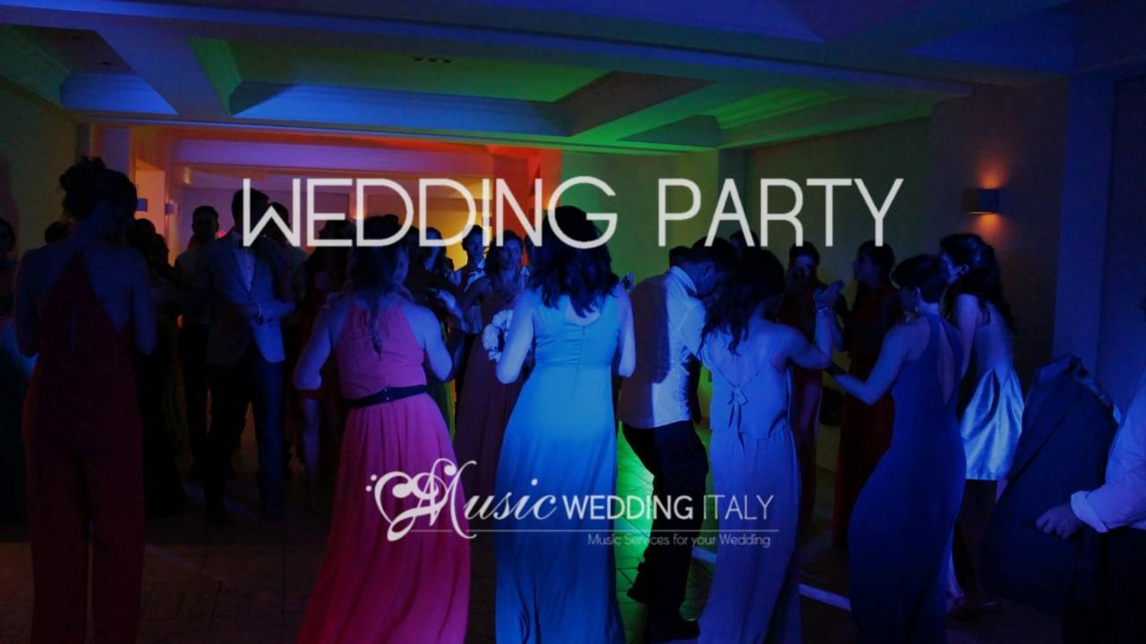 MUSIC WEDDING ITALY BEST WEDDING PARTY DJ SET