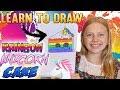 Rainbow Unicorn Cake || Art with Alyssa