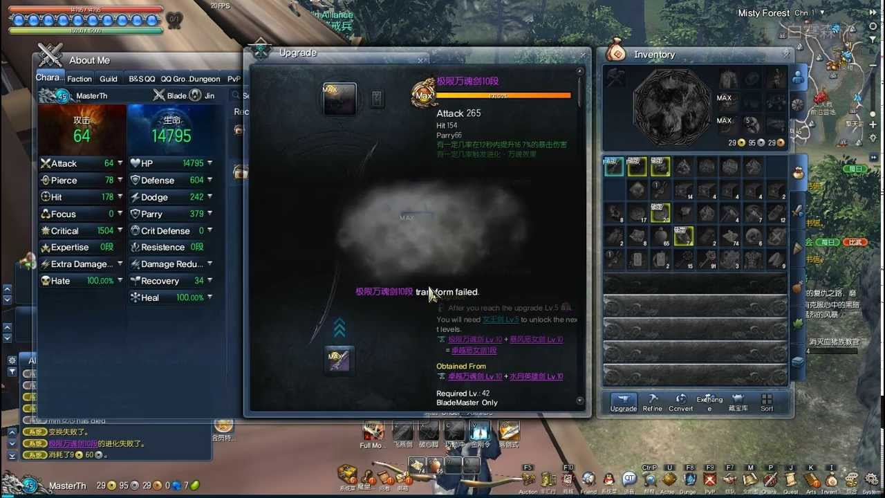 Blade & Soul Upgrade Weapon