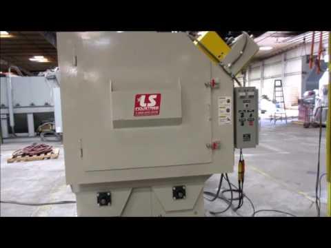 LS Industries Steel Drum Shot Blaster   1016