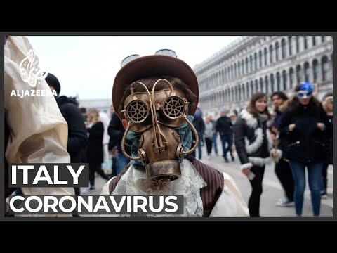 Italy towns quarantined as coronavirus cases grow