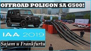 G KLASA (G500) | OFFROAD PARCOUR - IAA Frankfurt 2019.