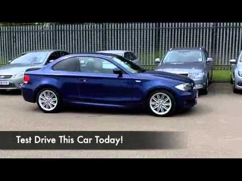 bmw 1 series diesel coupe 2010 120d m sport 2dr sd10oao youtube. Black Bedroom Furniture Sets. Home Design Ideas