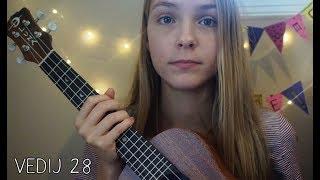 Unboxing my Lizard Concert Luna Ukulele! (vedij 28)
