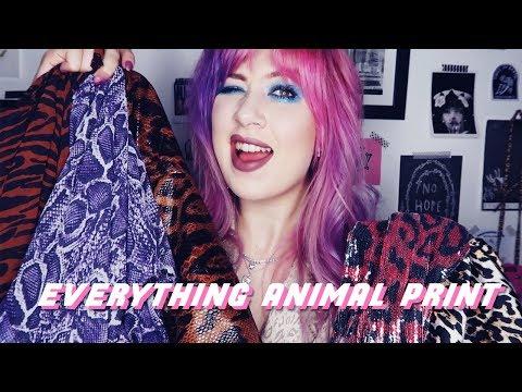 ALL ANIMAL PRINT NASTY GAL HAUL ⚡️ Amy Valentine