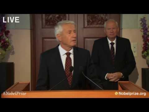 Nobel Peace Prize Announcement 2013