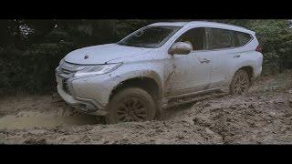 Mitsubishi Pajero Sport 2016.Veddroshow. Тест-драйв OFFROAD. E2
