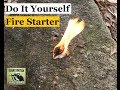 DIY Cheap   Easy Survival Fire Starter