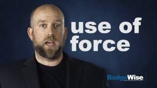 BadgeWise Free Citizen Training 8/13: The Police are Judged Differently in a Court of Law