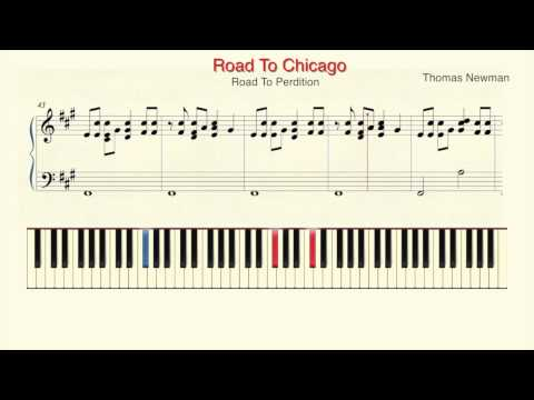 "How To Play Piano: Thomas Newman ""Road To Chicago"" Piano Tutorial by Ramin Yousefi"