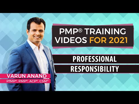 PMP Certification - PMP 6th Edition Training Videos - Professional Responsibility (2020) - Video 3