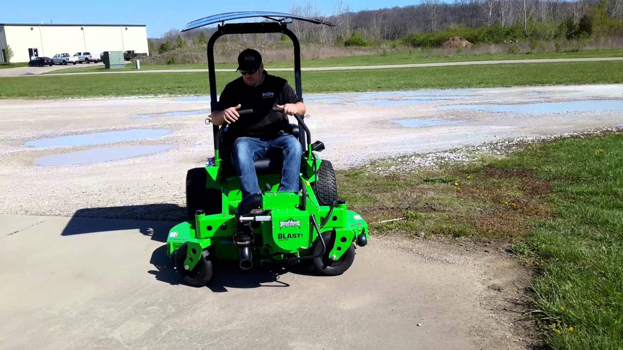 Mean Green Mowers Cxr 60rd S A M Commercial Electric Zero Turn Mower You