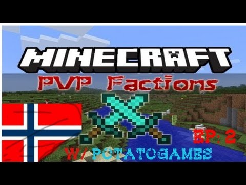 Minecraft Norsk M/ Slaimy22 Faction Krig!!