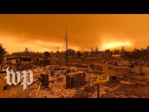Two California neighbors defend their homes from wildfire