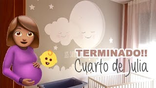 - VLOG 13 FEB / 168 - Y por fin el CUARTO DE JULIA terminado! + Me mareo en clases de maternidad!!
