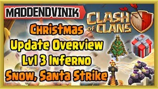Clash of Clans - New Christmas Theme Update (Level 3 Inferno, Santa
