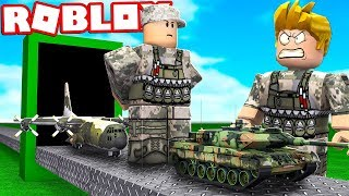 FÁBRICA DO EXÉRCITO NO ROBLOX !