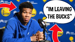 Giannis Antetokounmpo Signing With Golden State Warriors & Joining Steph Curry...