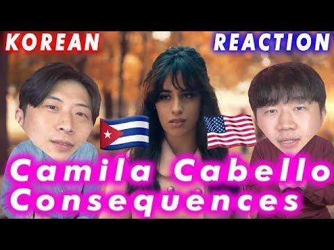 [ENG Sub]🔥🔥 KOREAN BOYS React To Camila Cabello - Consequences