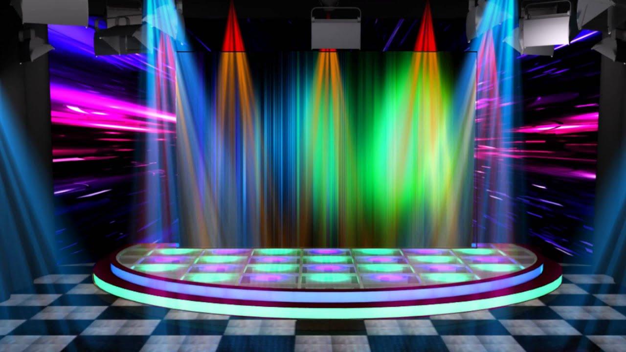 Neon Wallpaper Hd 3d Escenario Muestra Youtube