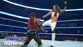 Download Alicia Fox & Brie Bella vs. Naomi & Tamina: SmackDown, December 31, 2015 Mp3 and Videos