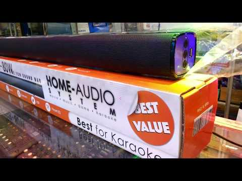 Demo Platinum Sound Bar PTSB-80w - berklyn electronic manila
