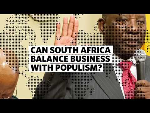 Can South Africa Balance Business with Populism?