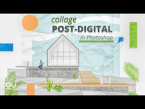 Post-digital: Architecture Drawing in Photoshop