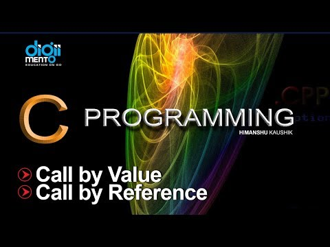 31 call by value and call by reference