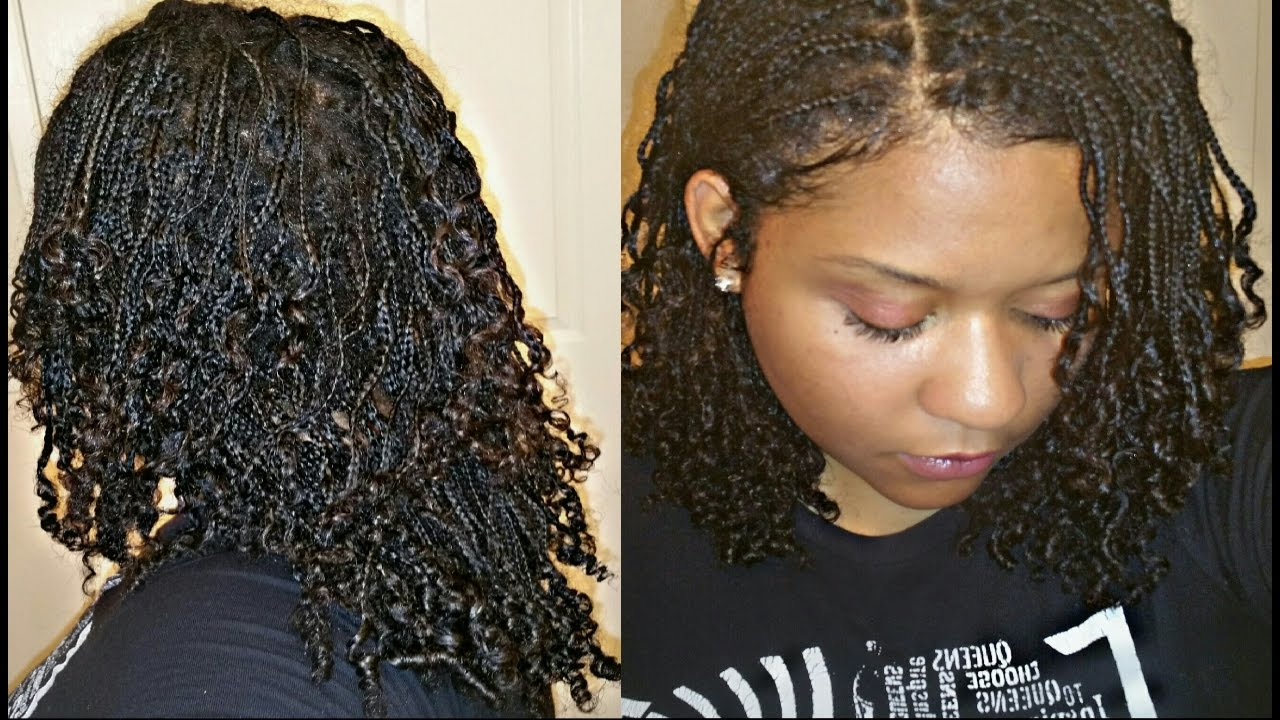 How I Maintain My Mini Braids Protective Style Daily