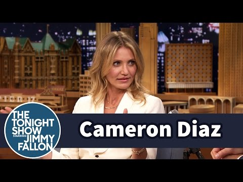 Cameron Diaz Reminds Jimmy He's Aging with Each Show