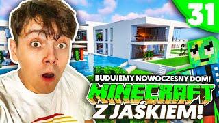 JAK BUDUJE SIĘ NOWOCZESNY DOM? - Minecraft z Jaśkiem #31 | JDABROWSKY