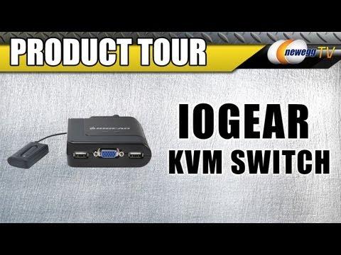 Newegg TV: IOGEAR GCS72U 2-Port USB Cable KVM Switch Product