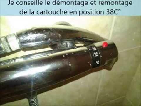 comment detartrer une cartouche de robinet thermostatique