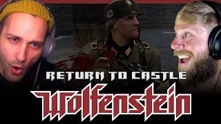 We Infiltrate Castle Wolfenstein and investigate the increase in activity from SS Paranormal Division.