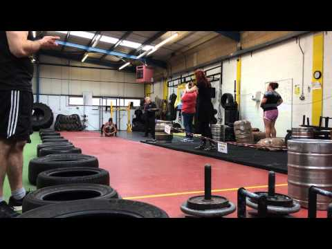 Britains Strongest Woman - 4th Place u63 - Sam Pollock - Suffolk Strength Academy
