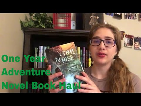 One Year Adventure Novel Book Haul