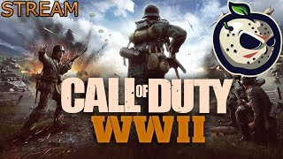 Call of duty ww2 MULTIPLAYER | Sponsor Goal 43 / 50 | Prestige 3 | COD WW2 STREAM #13