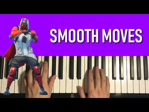 HOW TO PLAY - FORTNITE Dance - Smooth Moves (Piano Tutorial Lesson)