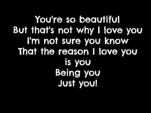 Avril Lavigne - I Love You [Lyrics] - YouTube