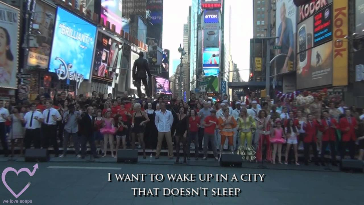 VIDEO Broadway Unites Sings New York New York In Support Of 9
