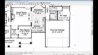 Chief Architect Quick Tip - Tracing Over A Floor Plan