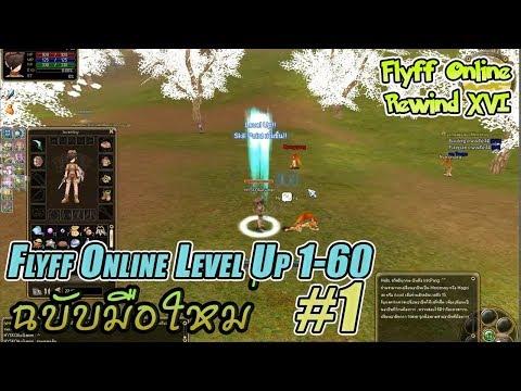 Flyff Online Level Up 160 ฉบับมือใหม่ Part 1 (อัพใหม่)