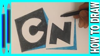 How to draw cartoon network logo